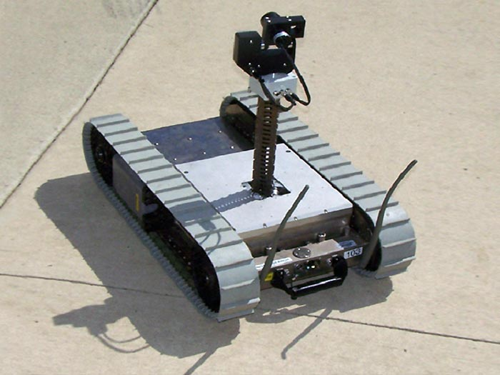 Southwest Research Testing Irobot S Packbot With Sam 8 At